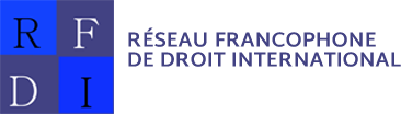 Réseau francophone de droit international